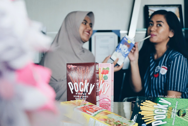 berbagi kebahagiaan bersama pocky di hari lebaran
