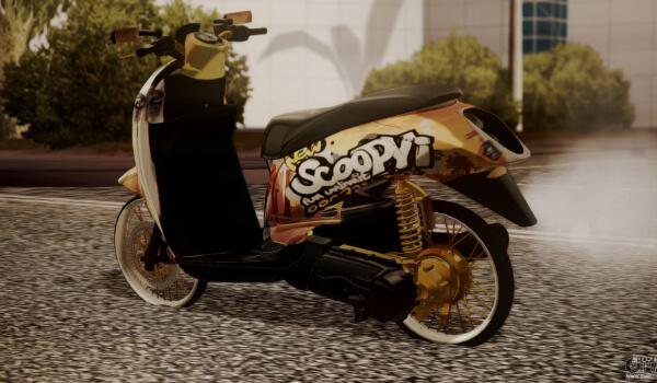 Mod Scoopy Thailook