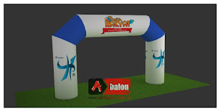 Harga Balon Gate | Balon Gapura | Start Finish