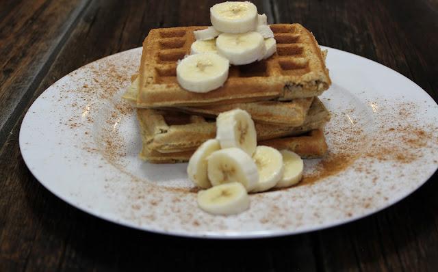 Banana Cinnamon Paleo Waffle Recipe