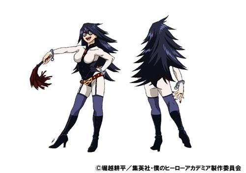 มิดไนท์ (Midnight) @ My Hero Academia: Boku no Hero Academia มายฮีโร่ อคาเดเมีย