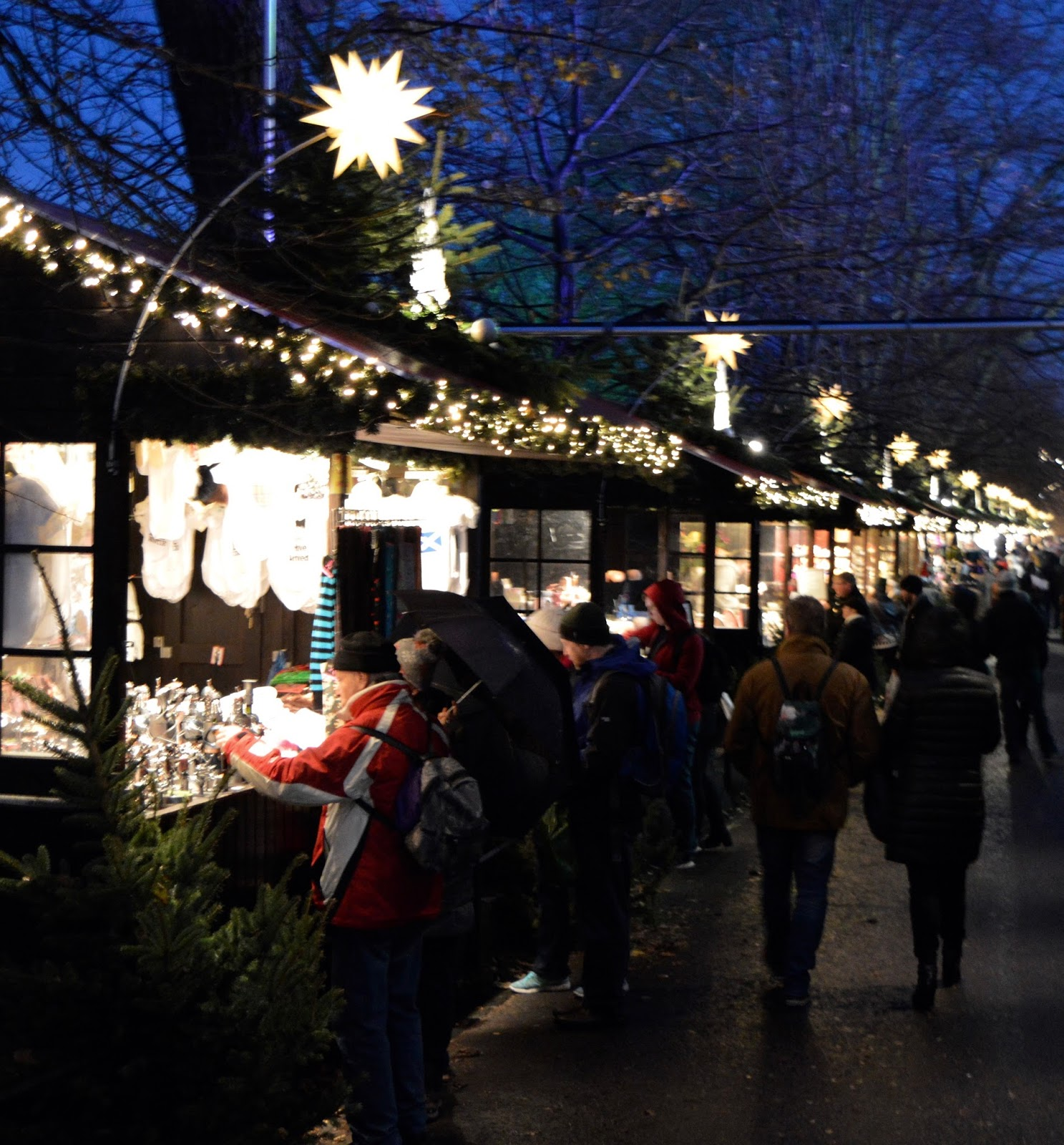 10 Reasons to Visit Edinburgh in December - Prince's Street Christmas Market