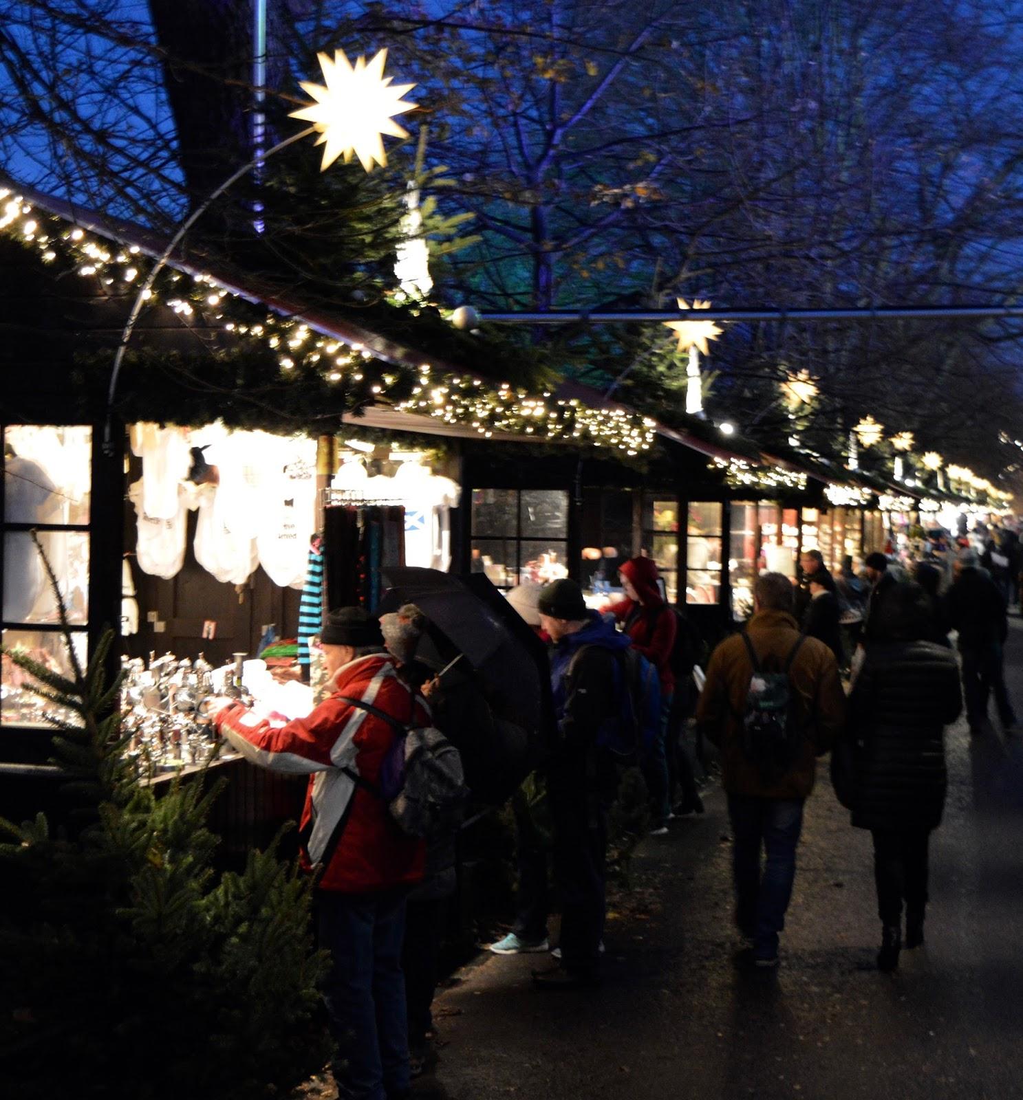 10 Reasons to Visit Edinburgh in December - Prince's Street Christmas Market