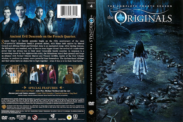 The Originals Season 4 DVD Cover