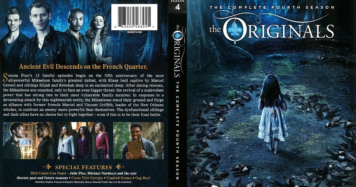 The Originals Season 4 DVD Cover | Cover Addict - Free DVD