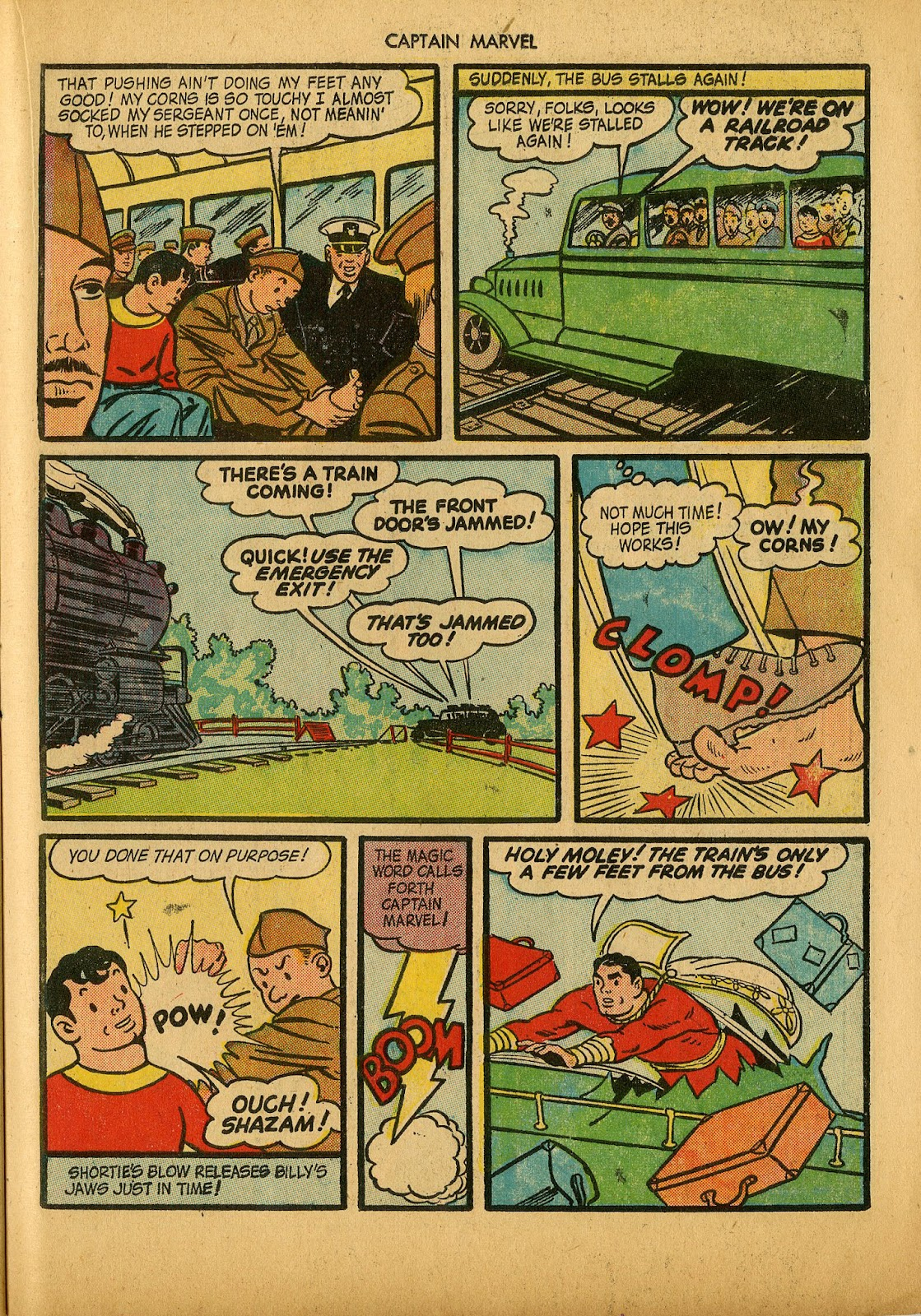Captain Marvel Adventures issue 36 - Page 35