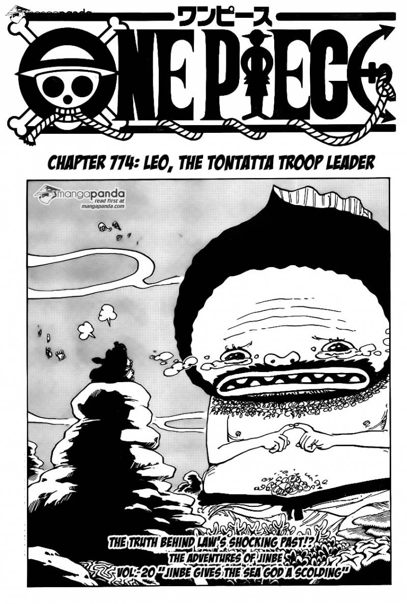 One Piece Ch 774: Leo, the Tontatta Troop Leader