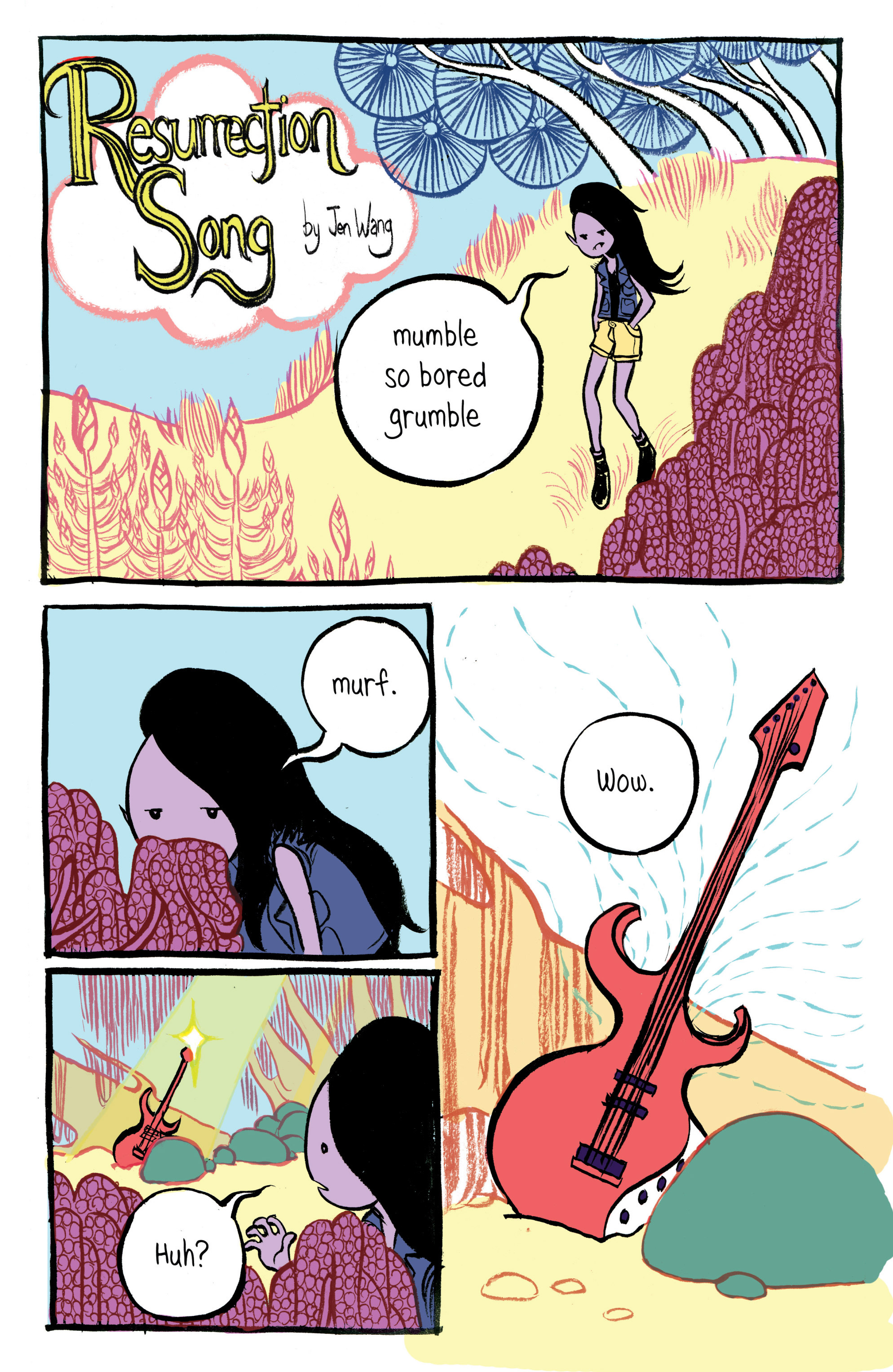 Read online Adventure Time: Marceline and the Scream Queens comic -  Issue #1 - 22