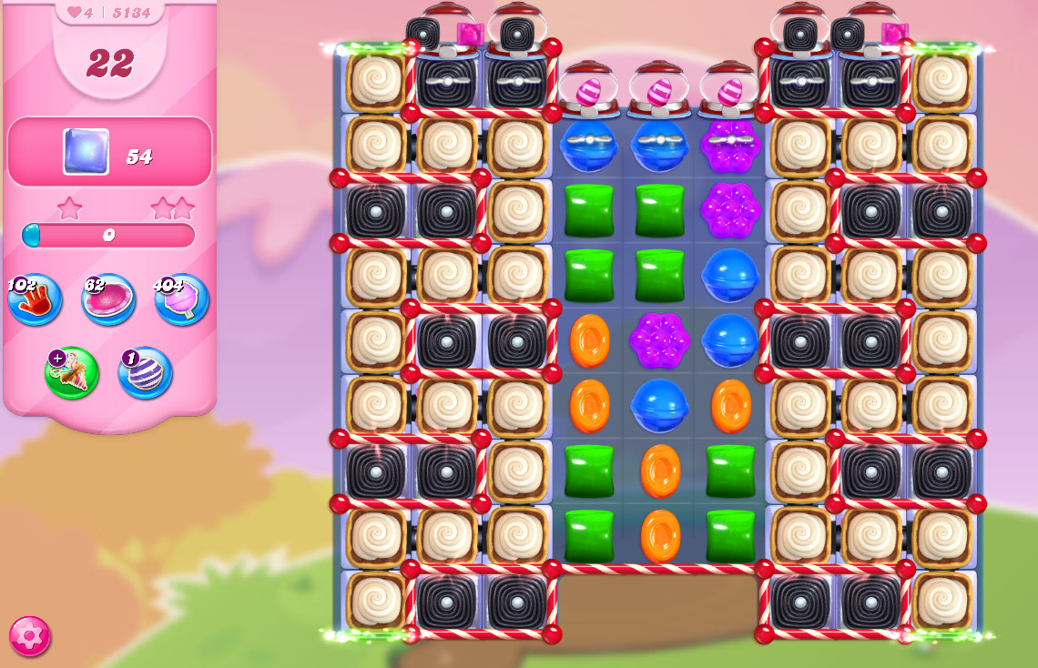 Candy Crush Saga level 5134