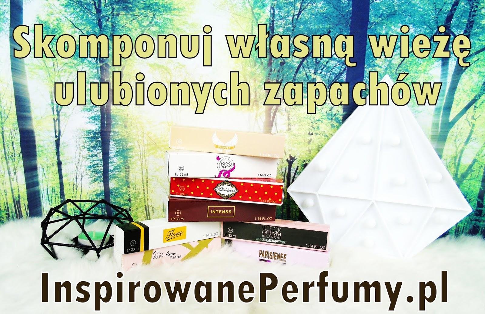 InspirowanePerfumy.pl - Skomponuj własną wieżę ulubionych zapachów.