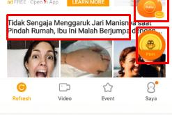 Gratis Pulsa Dari Aplikasi Kubik News. Khusus Yang Belum Coba Buruan Mendownloadnya!!!