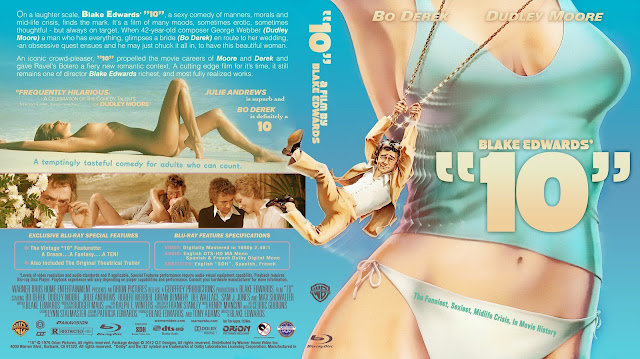 10 (1979) Bluray Cover