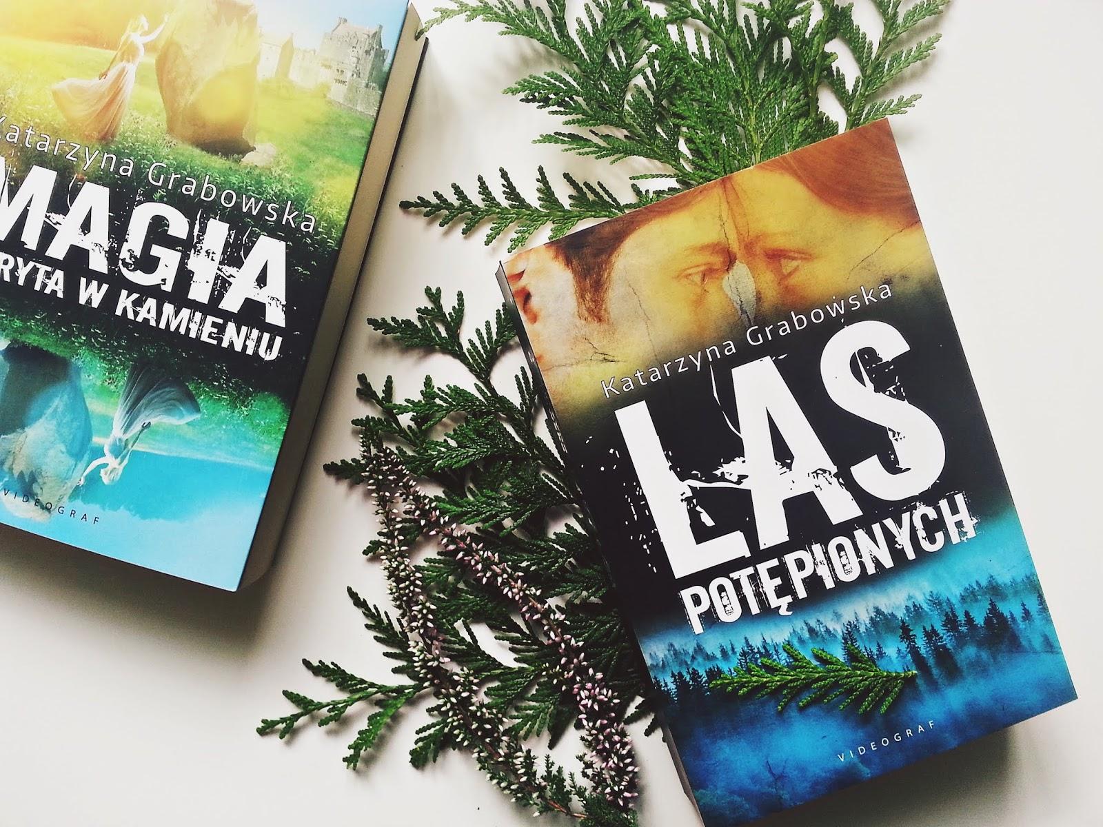 Las Potępionych, Magia ukryta w kamieniu, tom 2, książka, Katarzyna Grabowska, videograf, wydawnictwo videograf, konkurs