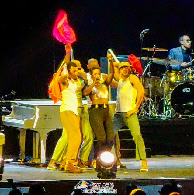 Photo Alicia Keys Concert Live in Malaysia 2013 @ Putra Bukit Jalil