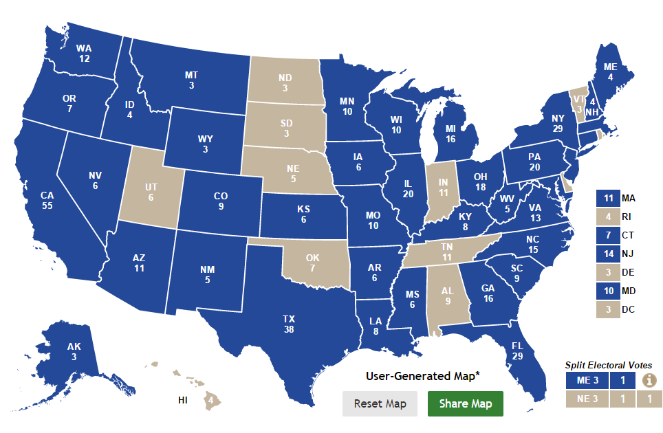 Back In March Of 2013 14 States Had Been Polled As Of Today 38 States Have Been Polled For Presidential Match Ups Here Is How This Looks On A Map