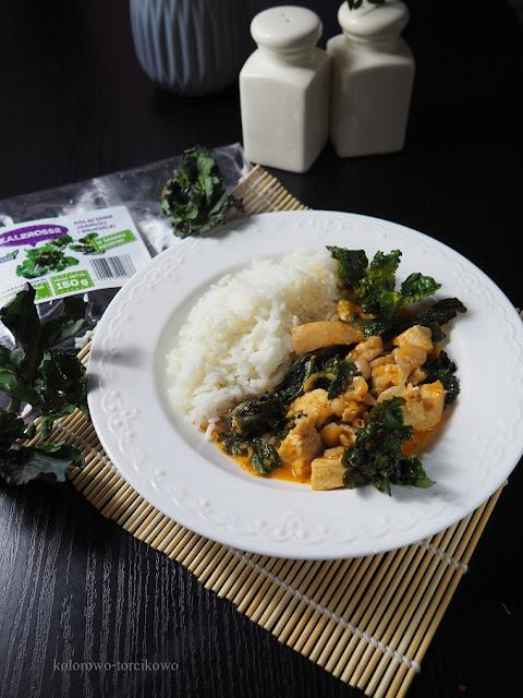 curry z mlekiem kokosowym