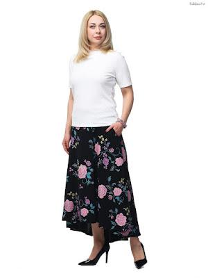 Faldas Largas Elegantes para Gorditas