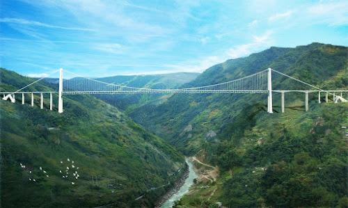 Segunda ponte mais alta do mundo