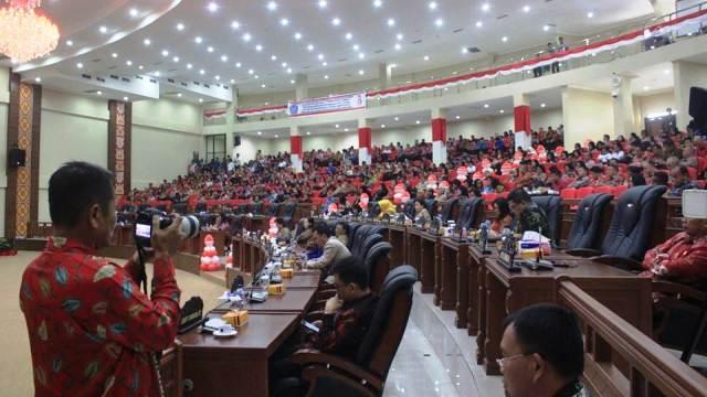 Peringati HUT RI ke 73, DPRD Sulut Gelar dua Rapat Paripurna