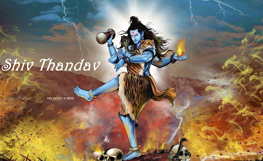 Shiv Thandav - the God of Dance