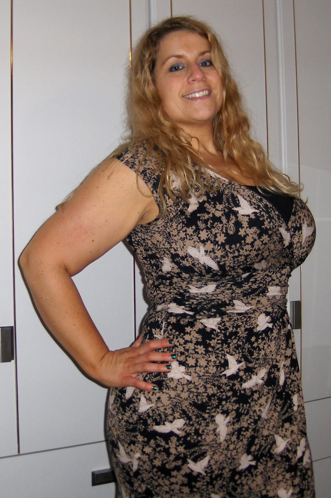 The Birdie Dress From Dorothy Perkins Curvy Wordy