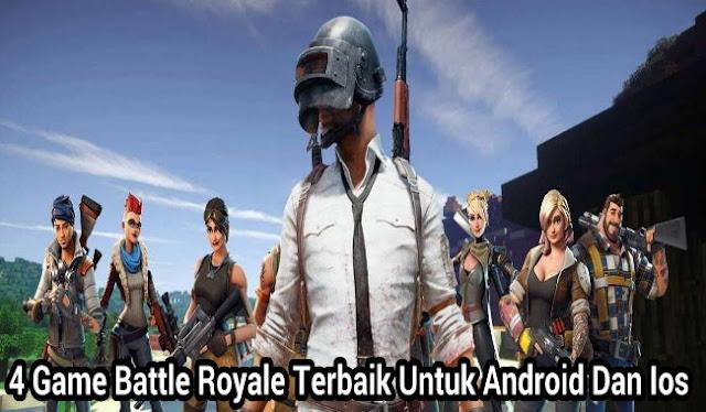 4 4 Game Battle Royale Gratis Terbaik Untuk Android Dan IPhone (iOS)