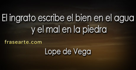 Citas para no olvidar – Lope de Vega
