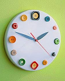 proyecto DIY con botones reciclados