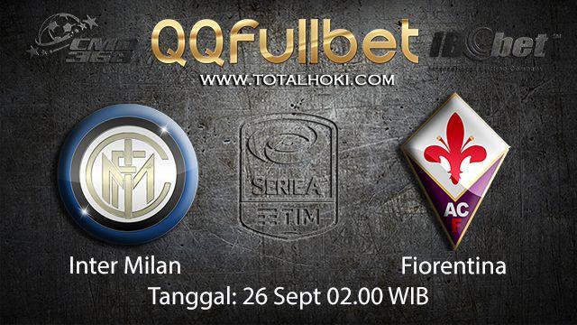 Prediksi Bola Jitu Inter Milan vs Fiorentina 26 September 2018 ( Italian Serie A )