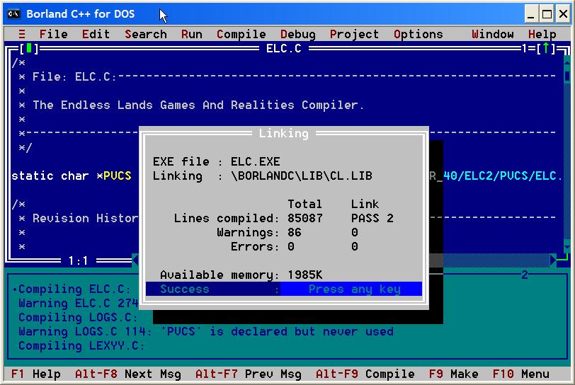 Tech corner: turbo c for windows vista and windows-7 x86-64 bit.