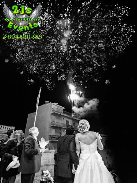 ΠΥΡΟΤΕΧΝΗΜΑΤΑ ΦΩΤΙΣΜΟΣ ΕΚΚΛΗΣΙΑΣ ΣΥΝΤΡΙΒΑΝΙΑ ΦΩΤΙΑΣ ΓΑΜΟΣ ΞΗΡΟΣ ΠΑΓΟΣ DRY ICE ΣΥΡΟΣ SYROS2JS EVENTS