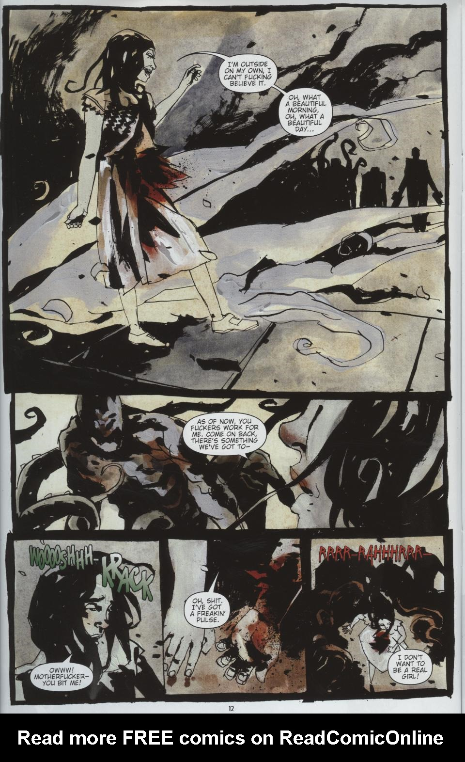 Read online Silent Hill: Dead/Alive comic -  Issue #1 - 12