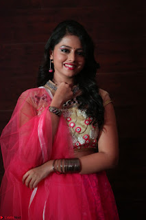 Geethanjali sizzles in Pink at Mixture Potlam Movie Audio Launch 046.JPG