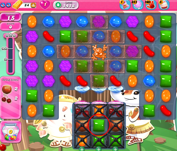 Candy Crush Saga 1418
