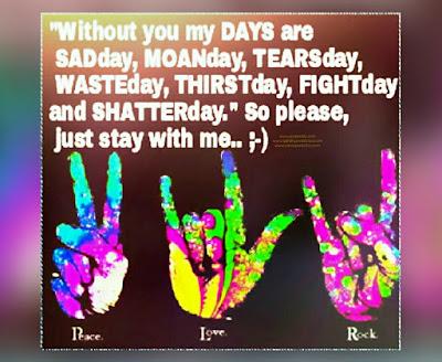 Loves Quote. Peace Love Rock.. (DigiArts) Berkreasi Positif Itu Tidak Sulit - Asalkan Tulus, Pasti Maknyus
