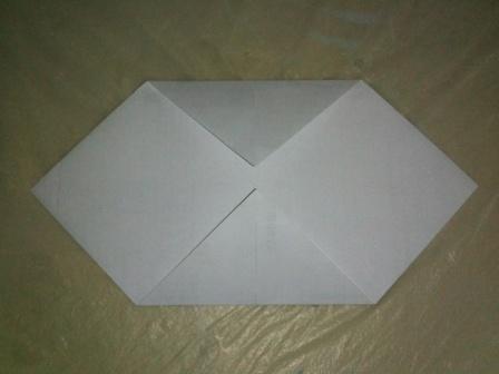 安樂生活誌 au date's home: 摺紙〔東南西北〕Origami