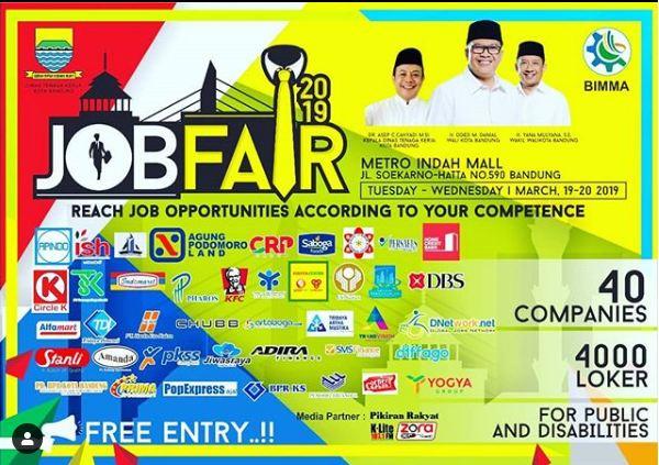 Job Fair Kota Bandung 2019