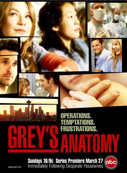 Grey's Anatomy Posters | Tv Series Posters and Cast