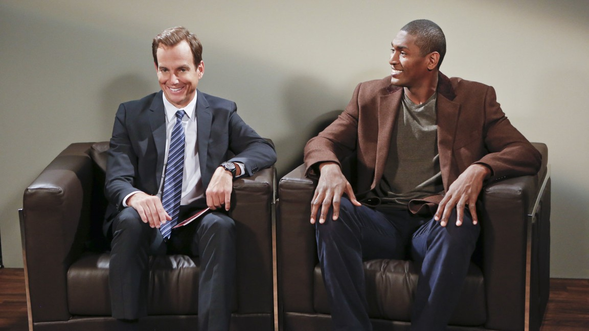 The Millers - Season 2 Episode 03: Give Metta World Peace a Chance