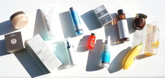 Korean beauty products, acid exfoliants, Curology