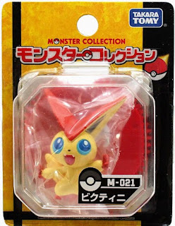 Victini figure Takara Tomy Monster Collection M series