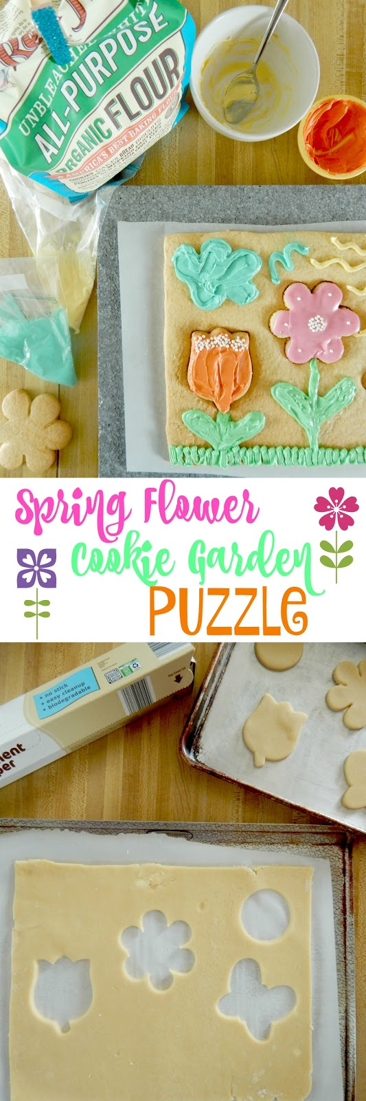 Ally's Sweet and Savory Eats: Spring Flower Cookie Garden ...