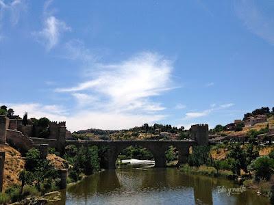 Vista desde tren turístico Toledo