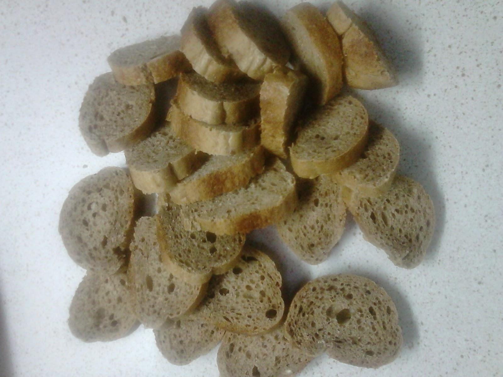 Παξιμαδάκια σκόρδου