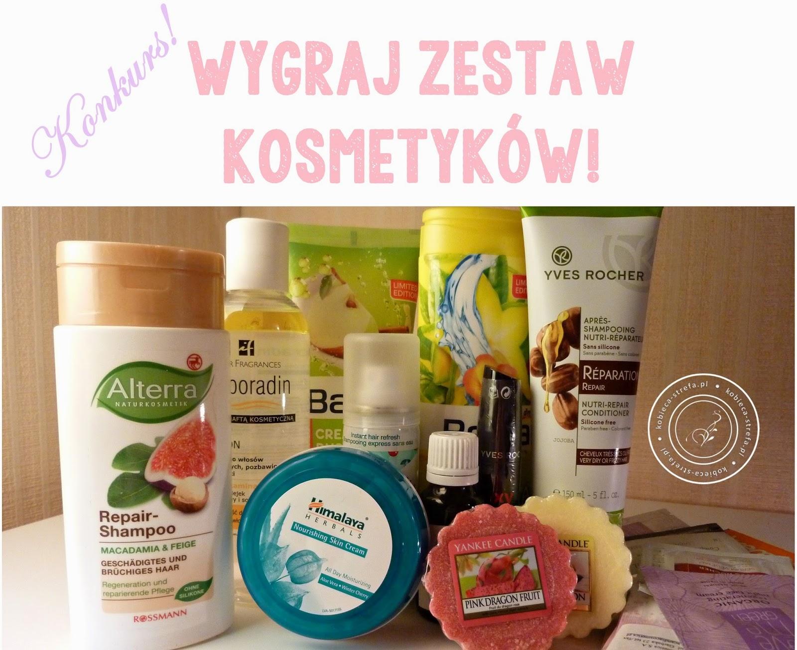 Konkurs, konkurs, konkurs! Czyli wygraj kosmetyki na Kobiecej Strefie!