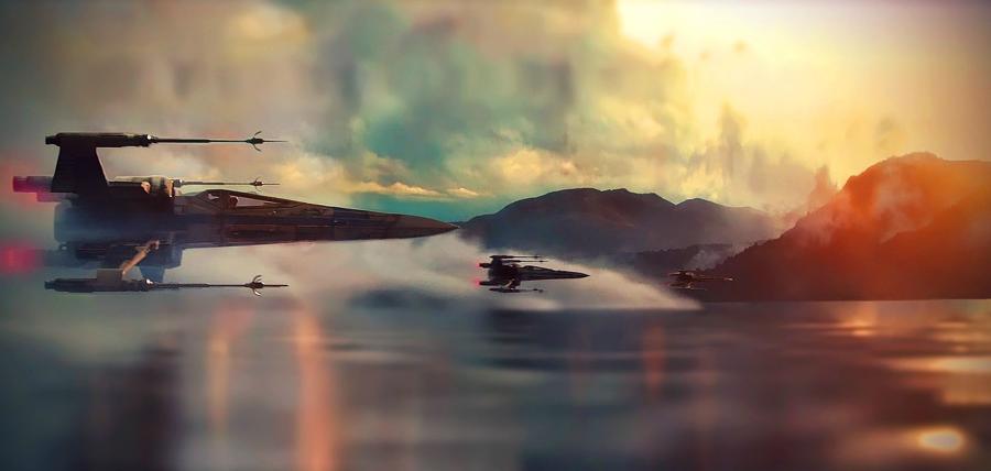 Star Wars: Rogue One va spune povestea unui grup de piloţi şi a navelor X-Wing
