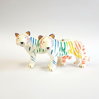 Tiger Tree Decorations