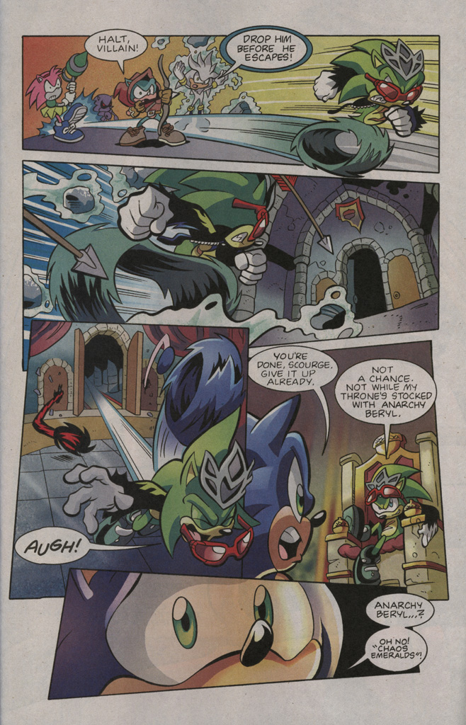 Read online Sonic The Hedgehog comic -  Issue #195 - 23