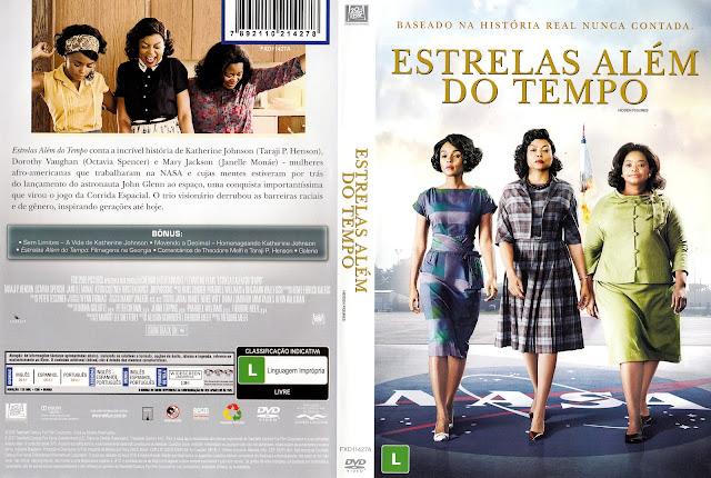 Capa DVD Estrelas Além do Tempo (Oficial)