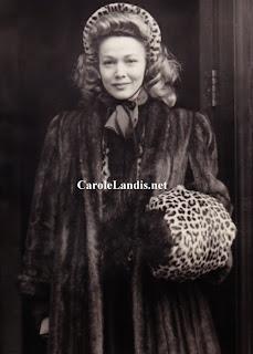 Carole Landis In England